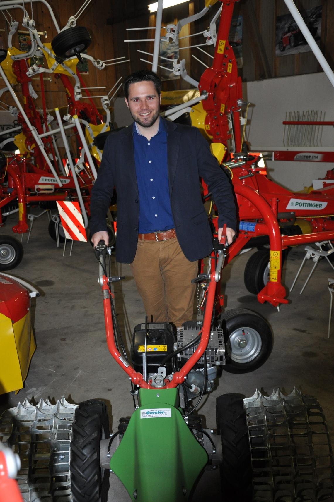 CVP Benken zu Besuch bei der Gerster Landmaschinentechnik AG (Samstag, 28.03.2015)