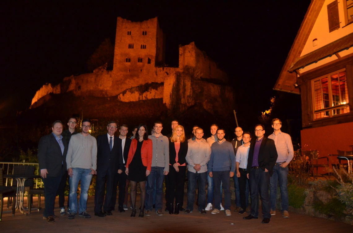 JCVP Linthgebiet zu Besuch bei der Jungen Union Ortenau (Sonntag, 15.11.2015)