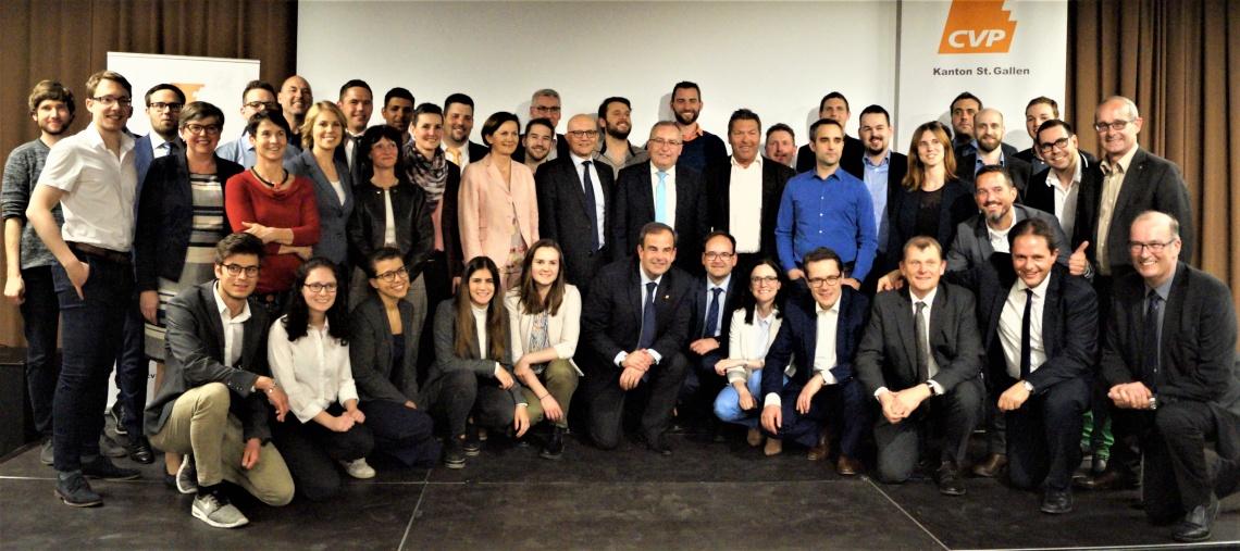 CVP und Junge CVP steigen mit 48 Kandidierenden in den Wahlkampf (Donnerstag, 04.04.2019)