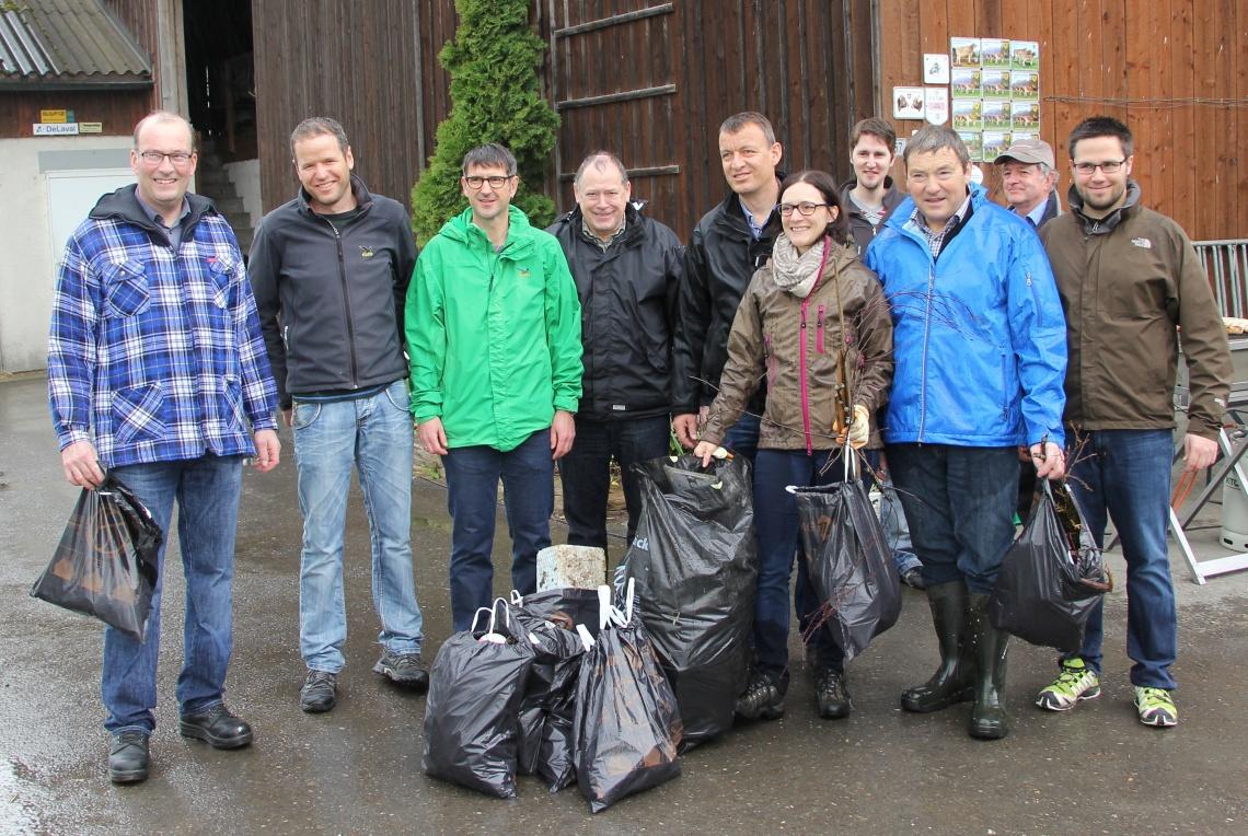 CVP für saubere Wiesen und gesunde Tiere (Sonntag, 06.04.2014)