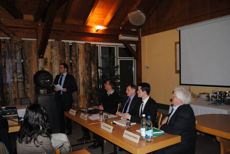 Junge CVP setzt sich für einen attraktiven Bildungsstandort St.Gallen ein  (Mittwoch, 27.02.2013)