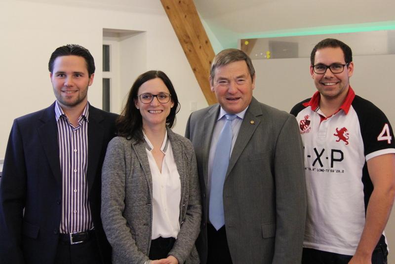 CVP Linth steigt mit Suter und Büchler ins Rennen (Freitag, 31.10.2014)
