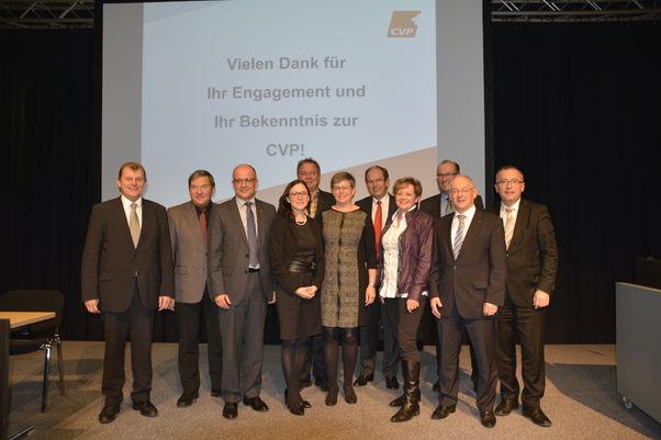CVP geht mit Wunschaufstellung ins Wahljahr (Freitag, 21.11.2014)