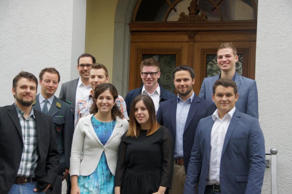 JCVP St. Gallen nominiert 12 Kandidierende für die Nationalratswahlen 2015 (Sonntag, 24.08.2014)