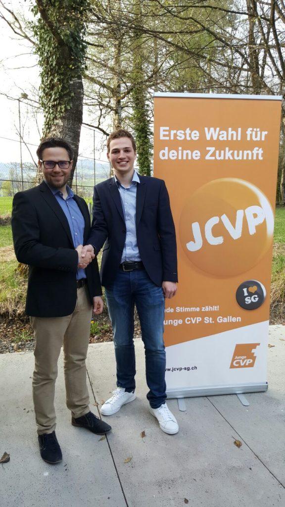 Junge CVP unter neuer Führung (Freitag, 07.04.2017)